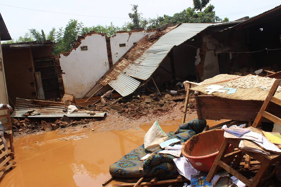 An estimated 4500 houses were destroyed during the floods. Photo credit: Red Cross Burundi