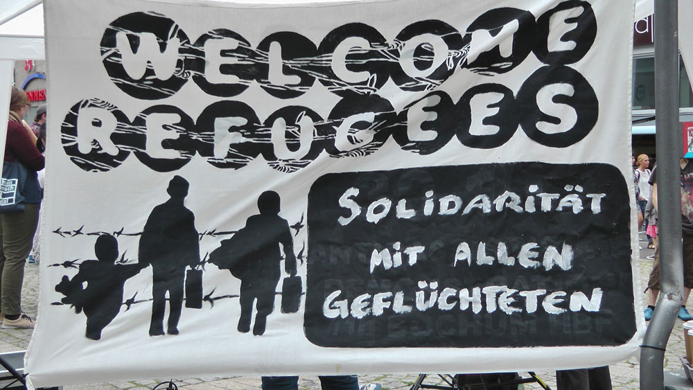 Welcome refugees