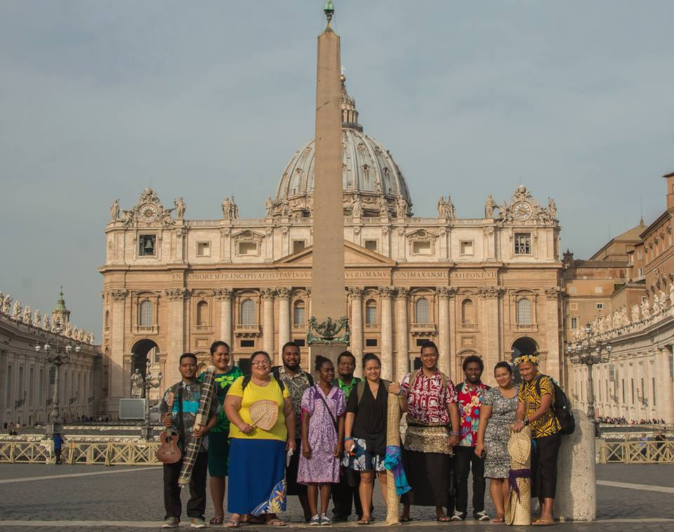 Pacific Climate Warriors at the Vatican