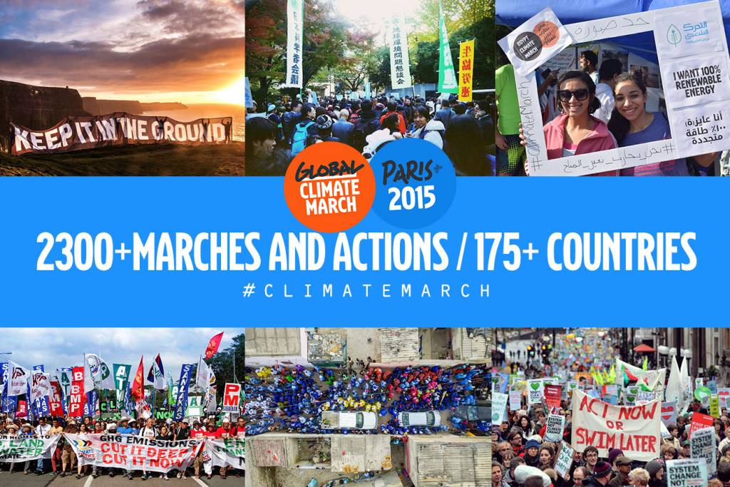 350 Org Global Climate March Report