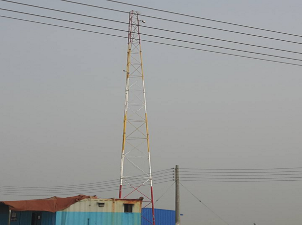 A watchtower at Rampal site